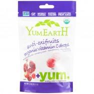 Καραμέλες φρούτων με βιταμίνη C, 93,5 γρ., Yum Earth