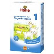 Βρεφικό κατσικίσιο γάλα Νο 1, 0-6 μηνών, 400 γρ., Holle