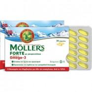 Μουρουνέλαιο σε κάψουλες, 150 τμχ, Möller's Forte