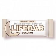 Μπάρα ενέργειας με καρύδα, ωμή και vegan, 47 γρ., Lifebar