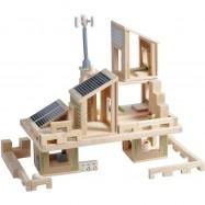 1567 – Οικολογικό σπίτι (εξοπλισμένο), Plan Toys