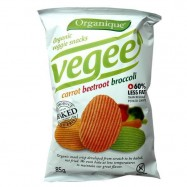 Σνακ λαχανικών χωρίς γλουτένη, 85 γρ., Organique