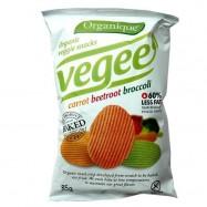 Τσιπς λαχανικών χωρίς γλουτένη, 85 γρ., Organique
