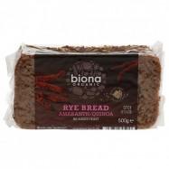 Ψωμί σίκαλης με αμάρανθο και κινόα ΒΙΟ, 500 γρ.