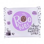 Μαλακό μπισκότο με κομματάκια σοκολάτας και φουντούκι, 40gr, Rookies