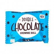 Μπράουνι με διπλή σοκολάτα, 40 γρ., Roo Bar
