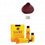 Βαφή μαλλιών καστανό ακαζού Νο8, Sanontit