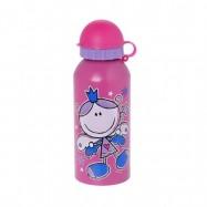 Ανοξείδωτο μπουκάλι, Girls, 450 ml, Decor