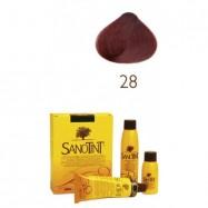 Βαφή μαλλιών καστανό κόκκινο Νο28, Sanontit