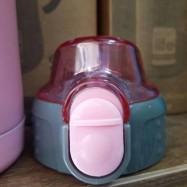 Ανταλλακτικό καπάκι για τα ροζ kids thermos, 300 ml, Ecolife