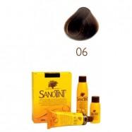 Βαφή μαλλιών καστανό σκούρο Νο6, Sanotint