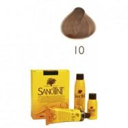 Βαφή μαλλιών ξανθό ανοιχτό Νο10, Sanotint