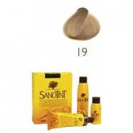 Βαφή μαλλιών ξανθό πολύ ανοιχτό Νο19, Sanotint