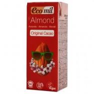 Ρόφημα αμυγδάλου με κακάο, 200 ml, Ecomil