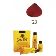 βαφή μαλλιών φραγκοστάφυλλο Νο23, Sanotint
