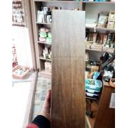 Θήκη ξύλινη διπλή καφέ χειροποίητη