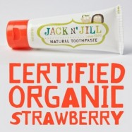Οδοντόκρεμα για παιδιά με γεύση φράουλα, 50 γρ., jack n' jill