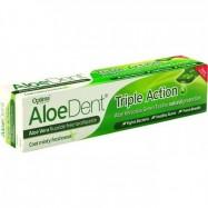 Οδοντόκρεμα με αλόη triple action, 100 ml, optima