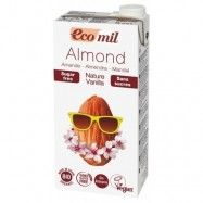 Ρόφημα αμυγδάλου με βανίλια, 1 lt, Ecomil
