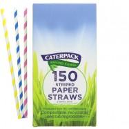 Καλαμάκια χάρτινα, βιοδιασπώμενα, Caterpack
