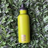 Ανοξείδωτο παγούρι lime ματ, 600 ml, Ecolife