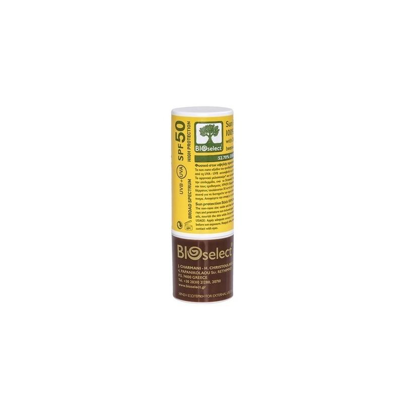 Στικ προστασίας από τον ήλιο SPF 50, 15 ml, Bioselect