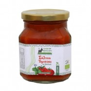 Σάλτσα τομάτας με βασιλικό ΒΙΟ, 380 ml, Πράσινο Μονοπάτι