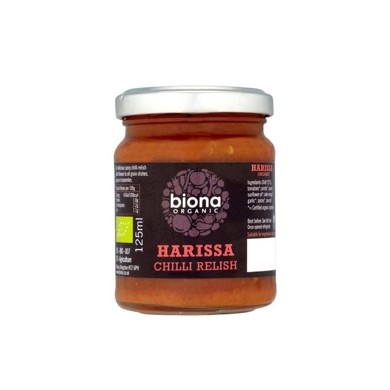Τσίλι πατέ, Harissa, 125 γρ., Biona