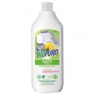 Υγρό απορρυπαντικό πιάτων, 500 ml, Biopuro