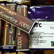 Κουβερτούρα 100% κακάο ΒΙΟ, 1200 γρ., Zotter