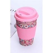 Κούπα από μπαμπού, ροζ