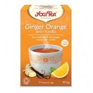 Τσάι με Τζιντζερ πορτοκαλι...