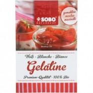 Ζελατίνη σκόνη (κολλαγόνο) βιολογική, 9 γρ., SOBO