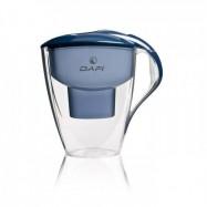 Κανάτα πλαστική με φίλτρο σκούρο μπλε (Dafi Astra Unimax)