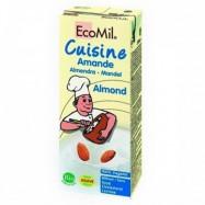 Κρέμα αμυγδάλου, 200 ml, Ecomil