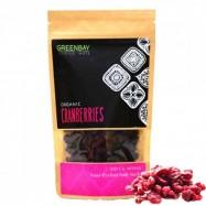 Κράνμπερις (Cranberries) αποξηραμένα,BIO, Raw,125γρ., Green Bay