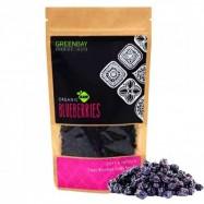 Μύρτιλλα, (Blueberries), BIO, Raw, αποξηραμένα, 125γρ., Green Bay