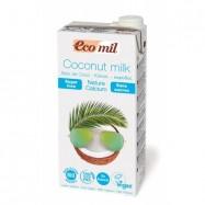 Ρόφημα καρύδας με ασβέστιο, 1 lt, Ecomil
