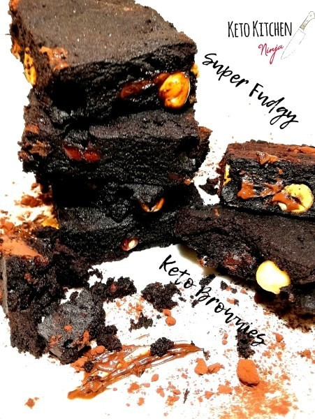 Keto Brownies της Mika